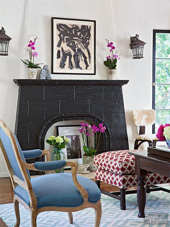 Amp Up a Fireplace