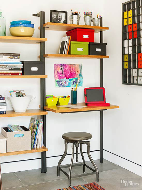 Creative storage ideas for small spaces - Creative storage for small spaces concept ...