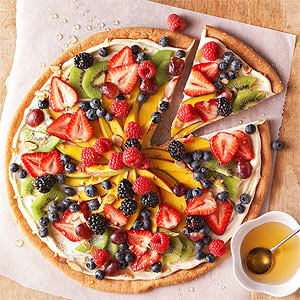 Dessert Fruit Pizza