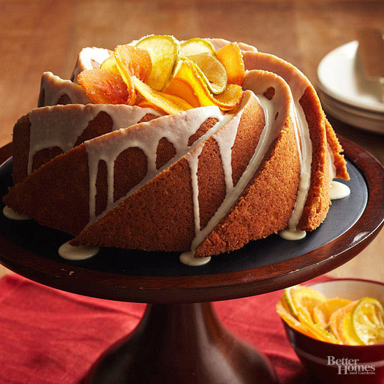Decorative Thanksgiving Cake Recipes