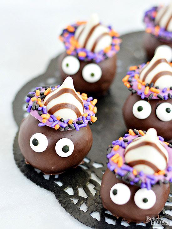 Goblin Cookie Truffles