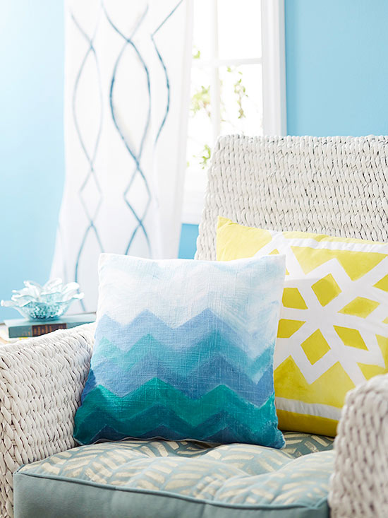 Paint a Chair Cushion