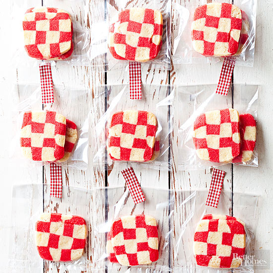 Red-Plaid Cookies