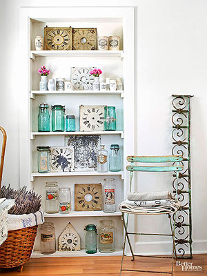 flea market style decorating | Decoration For Home