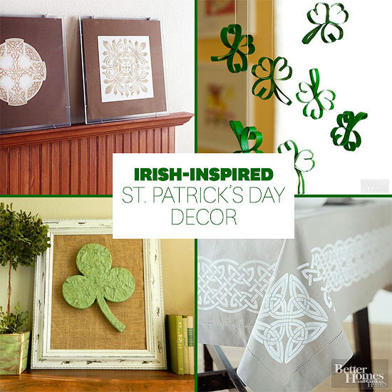 Irish Inspired St Patrick 39 S Day Decor From Better Homes And Gardens