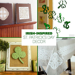 Irish Inspired St. Patricku0027s Day Home Decor