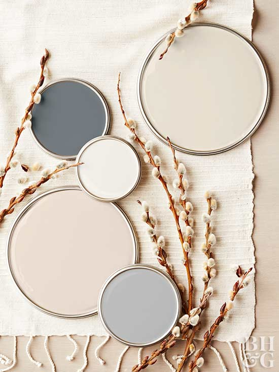 Neutral paint colors for Neutral shades of paint