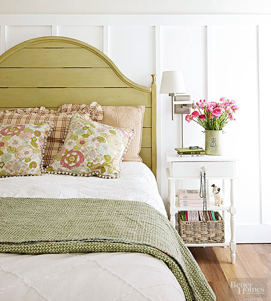 Headboard Decorating Ideas Part - 32: Get Painting
