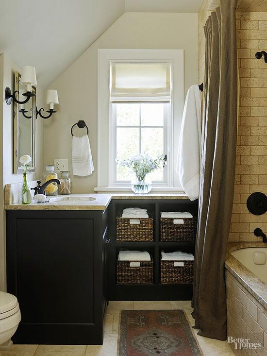 Make a Small Bath Look Larger