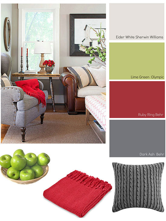 Winter color schemes for Interior decorating colour scheme ideas