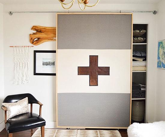 Modern Fabric Sliding Door & DIY Barn Doors for Every Style