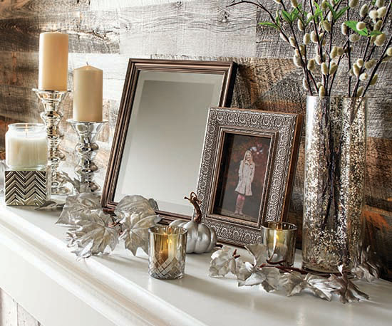 Add These Better Homes And Gardens Pillar Candles To Your Mantel Decor The Varying Heights Chic
