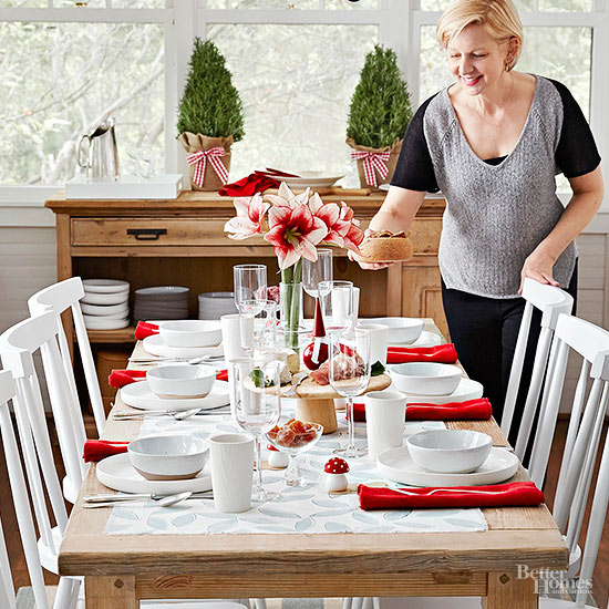 The Easiest-Ever Christmas Table