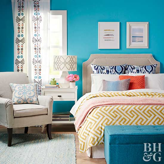 turquoise paint colors bedroom paint colors for bedrooms 17597