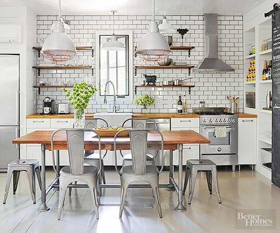 Modern farmhouse decor for Industrial farmhouse plans