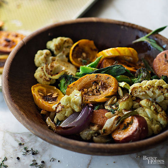 Garlic roasted vegetables forumfinder Images