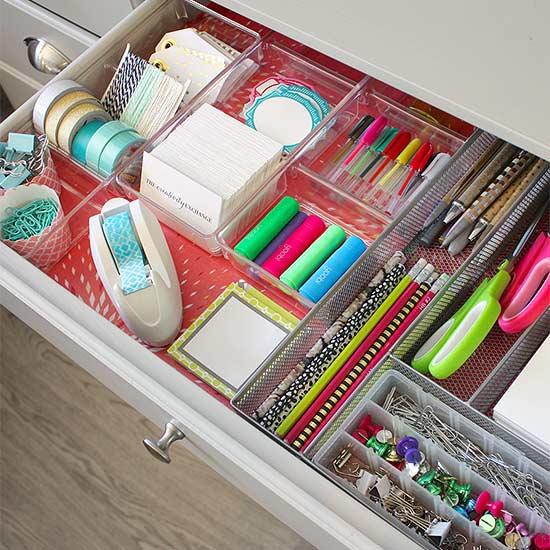 Bhg Storage Magazine: Creative Ways To Declutter Drawers