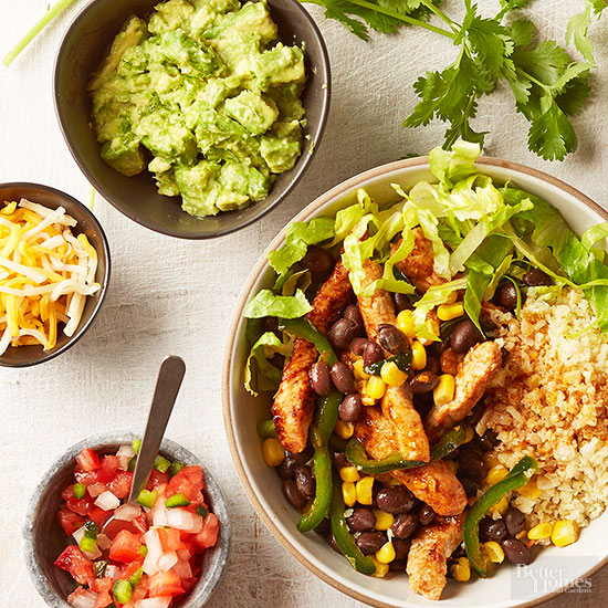 Stock a mexican pantry get the recipe for burrito bowls forumfinder Gallery