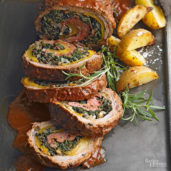 Braciole Style Flank Steak