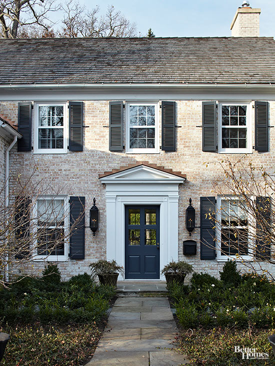 Colonial style home ideas for Colonial house exterior renovation ideas