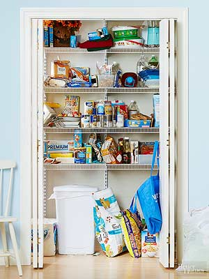 kitchen pantry makeover ideas - Pantry Design Ideas