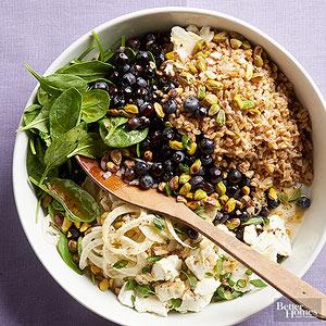 Farro Fruit Salad