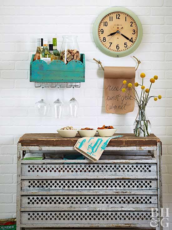 Easy diy kitchen decorating for Homemade kitchen decor ideas
