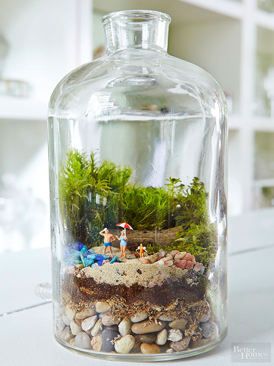 Terrarium fairy gardens for How to make a fairy garden container