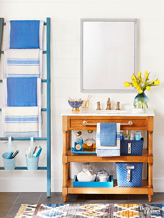 Easy diy bathroom projects for Diy bathroom decor ideas