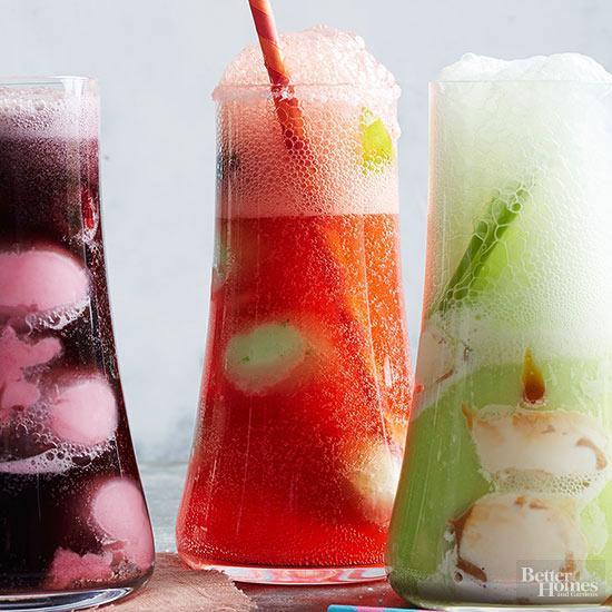 Ice Cream Soda Floats