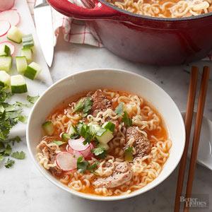 Banh Mi Ramen Noodle Bowl