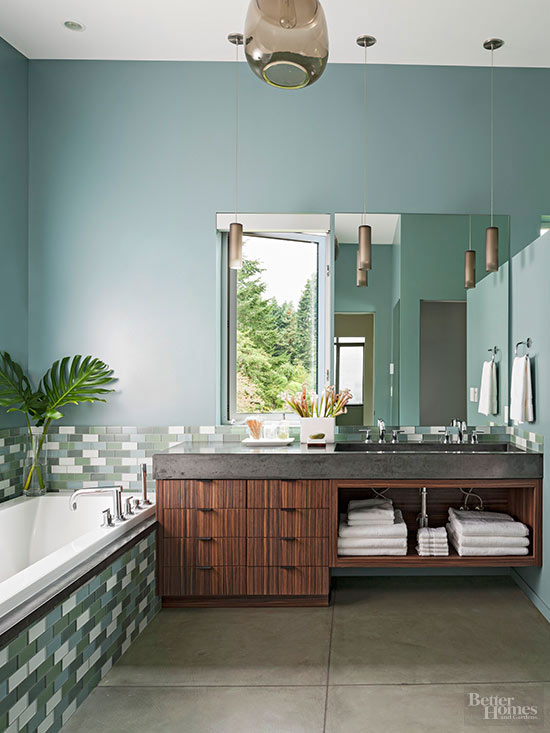 Soothing Bathroom Color Schemes