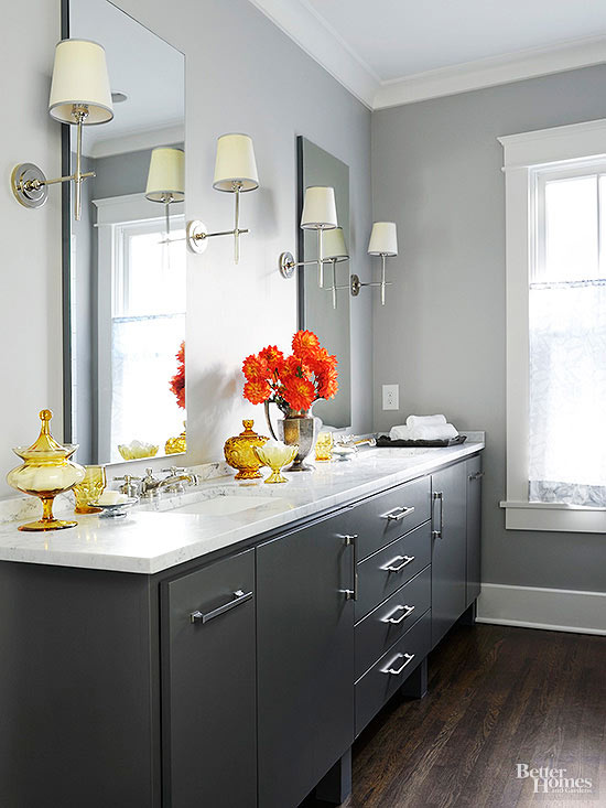 How Daring A Room Looks The Designer Or Homeowner Is Probably Following Certain Rules When It Comes To Color Selection Especially In The Bathroom