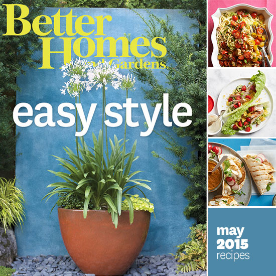 better homes and gardens may 2015 recipes