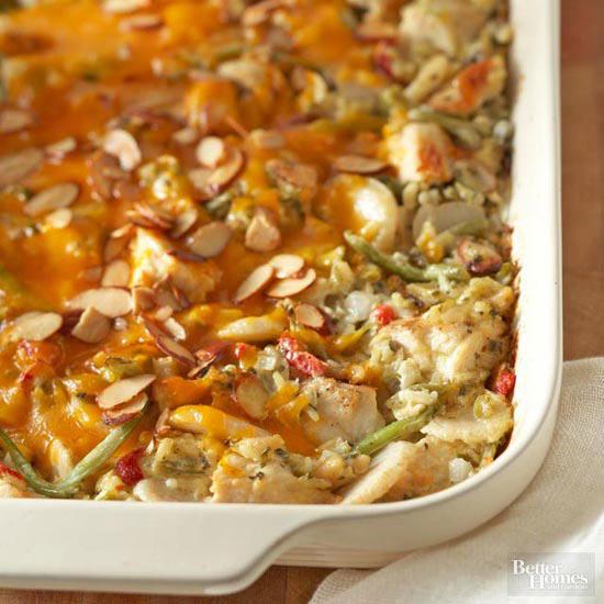 Chicken Wild Rice And Vegetable Casserole