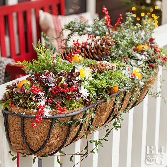 Outdoor christmas decorating ideas - Como decorar mi jardin ...