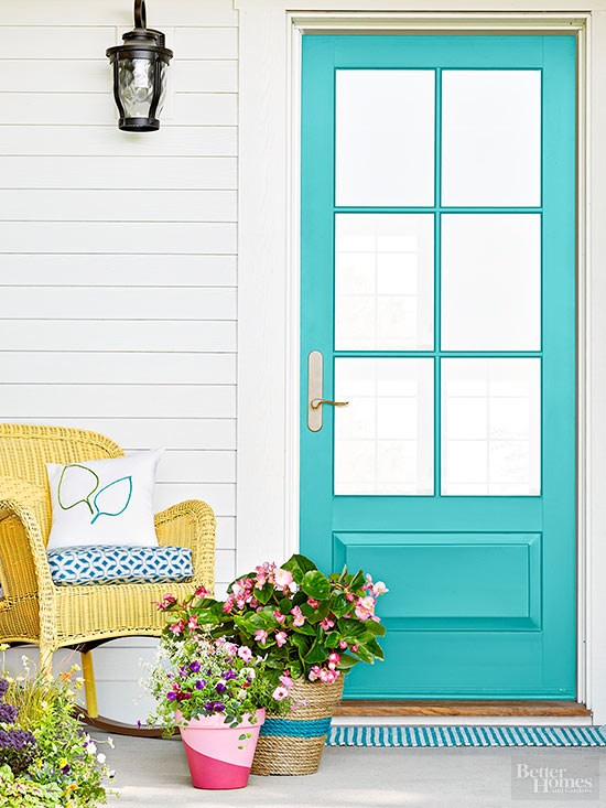 These Colorful DIY Entry Projects Had Us At Hello