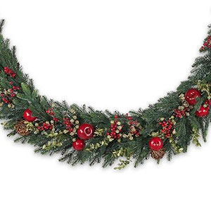 10 bh norway spruce holiday artificial christmas garland unlitgnditionallestg gorgeous garlands solutioingenieria