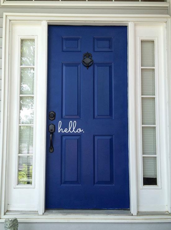 Blogger Front Door Makeovers