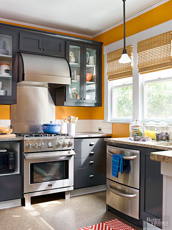 Warm kitchen color schemes for Kitchen designs and colours schemes