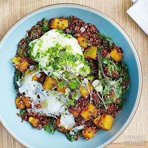 Quinoa And Butternut Bowl
