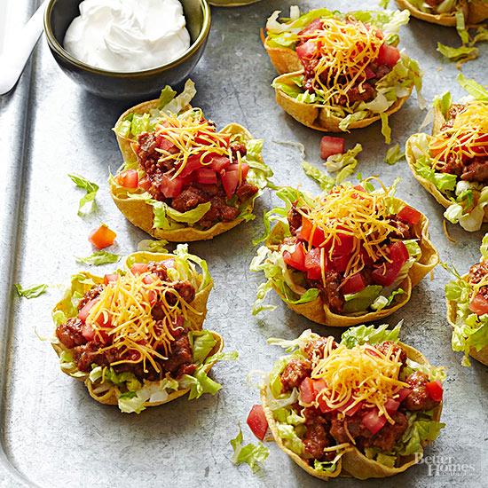 Make ahead taco salad cups forumfinder Images
