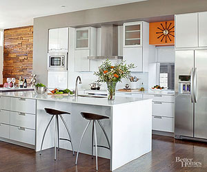 galley kitchen ideas makeovers. Retro Kitchen Ideas Modern Galley Makeover