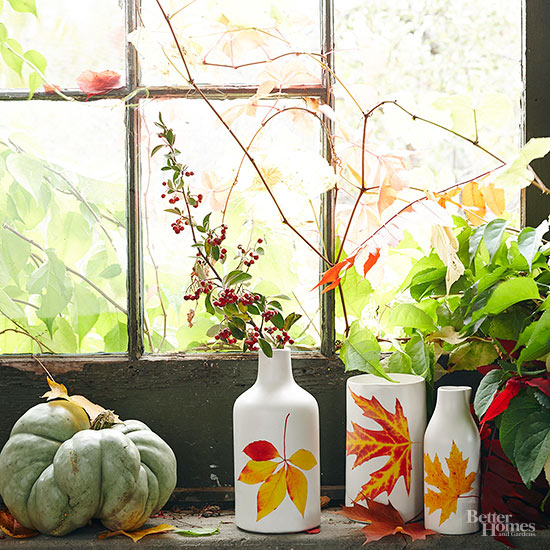 How to Make Leaf Vases with Two Supplies