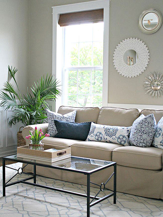 No money decorating for every room for Decorating living room on a tight budget
