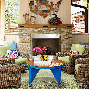 Fireplace Styles and Design Ideas -- Better Homes and Gardens ...
