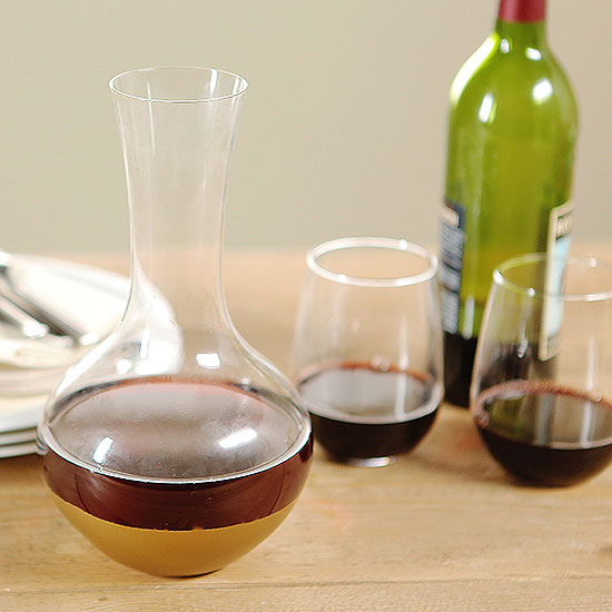How To Make a Cool Wine Decanter Gift