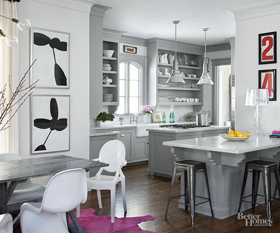 Next level neutral kitchen for Neutral colors for kitchen and dining room