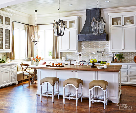 Bhg Kitchen Design Style pretty parisian kitchens