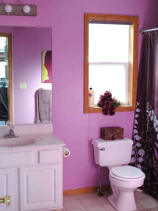 Weekend Bathroom Makeovers on pretty pink bathrooms, nice pink bathrooms, cool pink bathrooms,